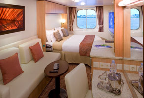 Balcony Cabin 6279 on Celebrity Equinox, Category 2C